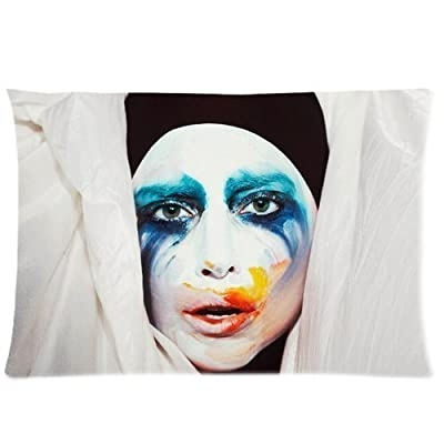 Custom Lady gaga Rectangle Pillow Cases 20x30 (one side) Comfortable For Lovers And Friends