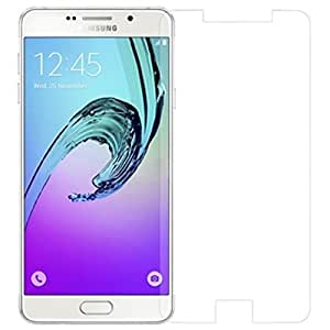 Giozy (TM) 2.5D Crystal Clear 9H Curve Edge Tempered Glass Screen Protector For Samsung Galaxy A7(2016) New Edition