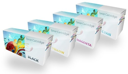 Prestige Cartridge Kit 4 Toner CE310A-CE313A Compatibili con Stampanti HP 126A/Colour LaserJet Pro/TopShot LaserJet M275, Multicolore