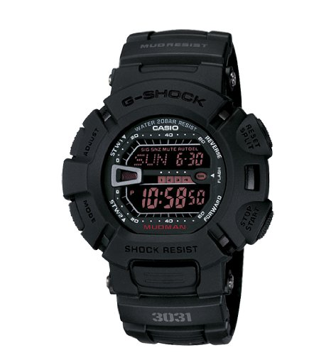Casio Men's G9000MS-1CR G-Shock Military Concept Black Digital Watch