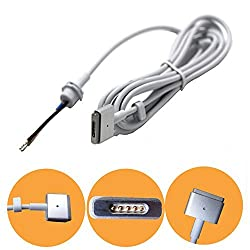 ElementDigital(TM) 45W/60W/85W AC Power Adapter DC Repair Cable Cord Connector for Apple MacBook ( T Connector for Apple MAC Macbook Air Magsafe 2 After Jane, 2012)