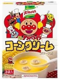 Knorr クノール それいけ!アンパンマン コーンクリーム 3袋入り