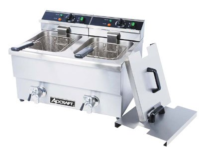 ADCRAFT DF-12L/2 Commercial Electric Double Deep Fryer