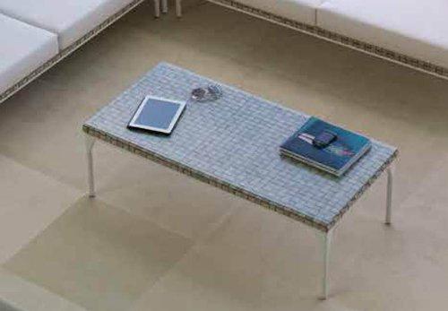 Mesas de Centro de Diseño Exterior : Colección BRAFTA blanco roto