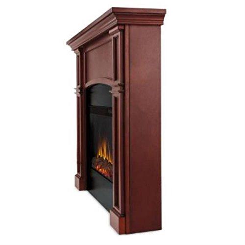 Bradford Slim Line Fireplace in Dark Mahogany