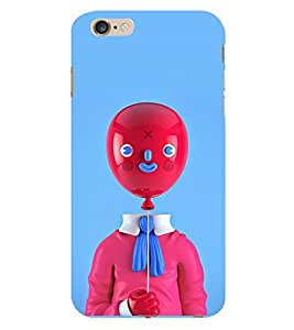 Vizagbeats Baloon Head Back Case Cover for Apple Iphone 6