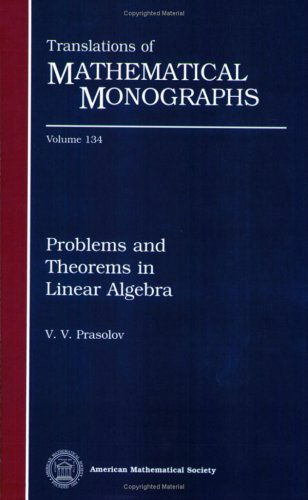 Problems and theorems in linear algebra
