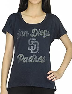 PLUS SIZE Womens SAN DIEGO PADRES Athletic T Shirt