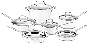 Cuisinart CSMW-10 Chef's Classic Stainless Steel 10-Piece