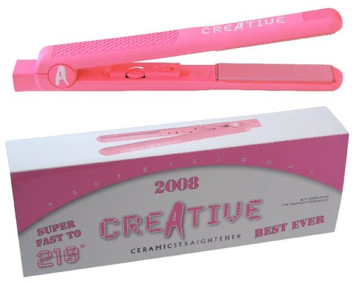 Kodo Creative All Pink 2008 Model Ceramic Hair Straighteners