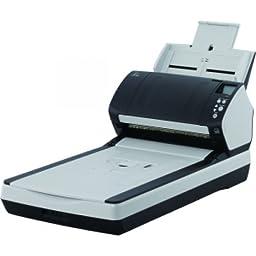 FUJITSU i-7260 Sheetfed/Flatbed Scanner / 24-bit Color - 8-bit Grayscale - USB / PA03670-B555 /