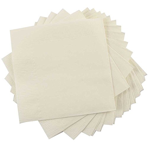 JAM Paper® Tablewares - Paper Napkins - Small Beverage Size (5
