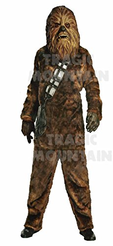 Adult Men's Deluxe Star Wars Chewbacca Costume Brown