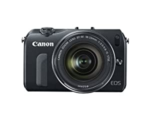 Canon EOS M 18.0 MP Compact Systems Camera with 3.0-Inch LCD and EF-M18-55mm IS STM Lens and Canon Speedlite 90EX Flash