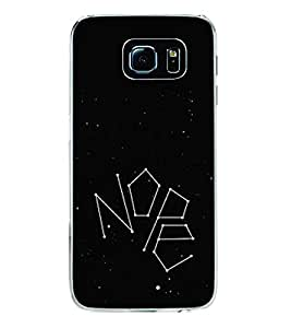 Nope 2D Hard Polycarbonate Designer Back Case Cover for Samsung Galaxy S6 G920I :: Samsung Galaxy G9200 G9208 G9208/SS G9209 G920A G920F G920FD G920S G920T