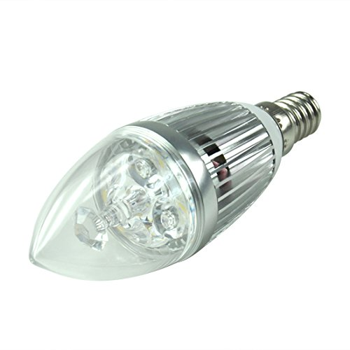 4W Led Candelabra E14 High Power Led Candle Light Bulb,Warm White