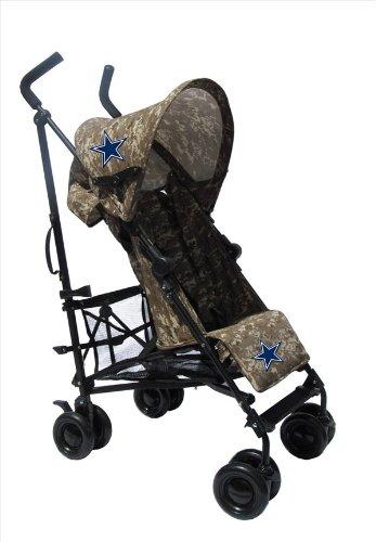 Dallas Cowboys Camouflage Umbrella Stroller front-876244