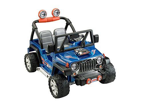Power wheels hot wheels jeep blue vehicles parts vehicle for Hot wheels motorized jeep
