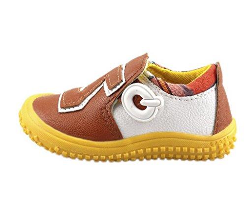EOZY Bébé Unisexe Chaussure de Sport Souple Style scratch Couleur Bicolore