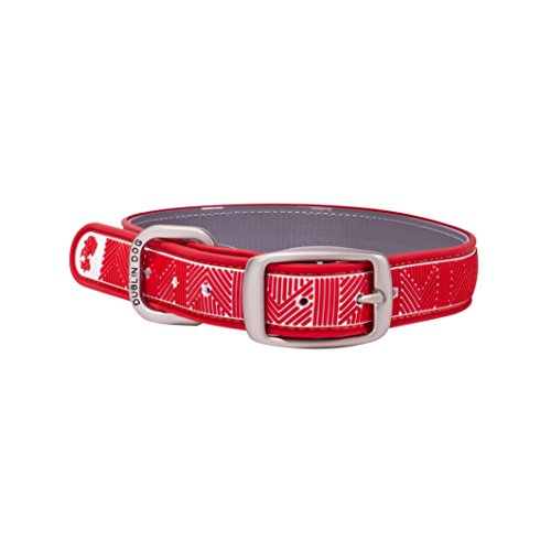 dublin-dog-all-style-no-stink-chevron-dog-collar-small-nautical-red