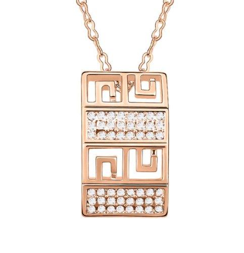 Boxingcat Fine Jewelry Swarovski Style Clear Austrian Crystal Pendant Necklaces Bgca5211 front-697809
