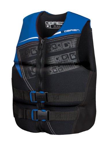 O'Brien Men's Flex V-Back Neo Life Vest, Blue, 3X-Large