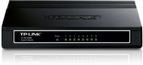 TP-LINK TL-SG1008D 10/100/1000Mbps 8-Port Gigabit Desktop Switch, 10Gbps Switching Capacity