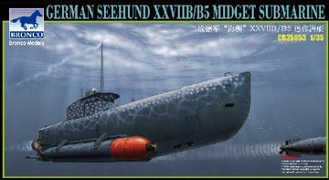 35053 1/35 German Seehund XXVIIB/B5 Midge Submarine (1 35 Submarine compare prices)