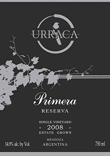 2008 Urraca Vineyards Agrelo Primera Reserva Red Blend 750 Ml