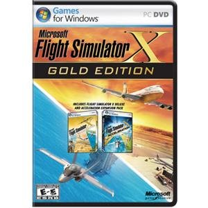 NEW Flight Simulator X-Gold (Videogame Software)