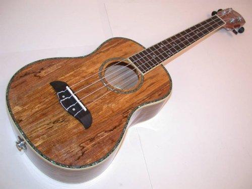 Oscar Schmidt Acoustic/Electric Tenor Ukulele Spalt Mango W/ Gig Bag, Ou7Te-Ub4