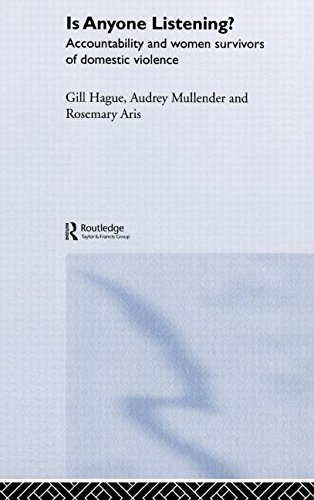 Is Anyone Listening?: Accountability and Women Survivors of Domestic Violence: Putting the Views of Survivors of Domestic Violence into Policy and Practice