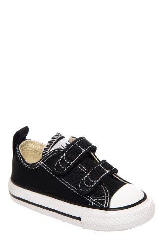 Converse Boy's Chuck Taylor All Star 2V Infant/Toddler - Black - 9 M US Toddler