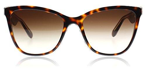 D&G Dolce & Gabbana 0DG4193 27381356 Butterfly Sunglasses,ToP Havana Glitter,56 mm