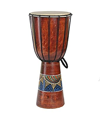 "Djembe Congo African Percussion Drum - Professional Sound Extra Large 20"" X 10"""