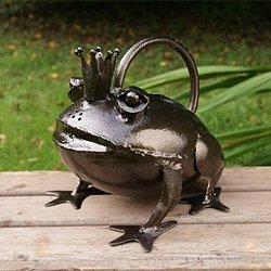 Large Frog Watering Can