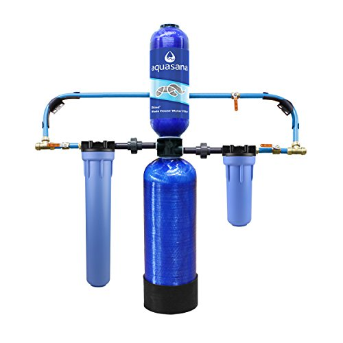 Aquasana 10-Year, 1,000,000 Gallon Whole House Water Filter with Professional Installation Kit (Home Water Filtration Systems compare prices)