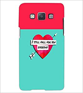 PrintDhaba Quote D-2632 Back Case Cover for SAMSUNG GALAXY E5 (Multi-Coloured)