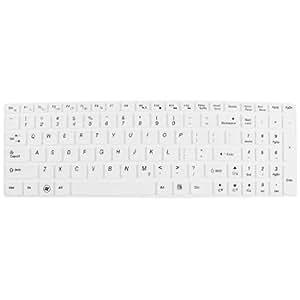 Dustproof Film PC Keypad Keyboard Skin White for Lenovo 15