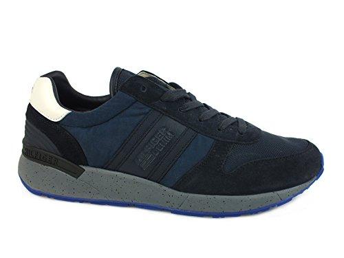 Tommy Hilfiger EM56821669 Sneakers Uomo Crosta Ink Ink 43