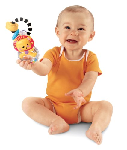 Fisher-Price Discover 'n Grow Lion Ring Rattle (Discontinued by Manufacturer)