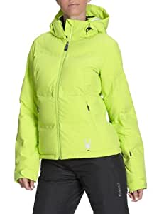 Spyder Breakout Down jacket Veste Doudoune Ski Femme Lime 42