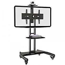 Tono OFS 55 Video Conferencing TV Stand Cart with caster wheels