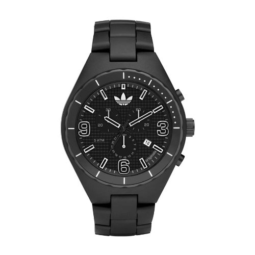 Adidas Originals Unisex 47mm Black Cambridge Chronograph Watch - ADH2523