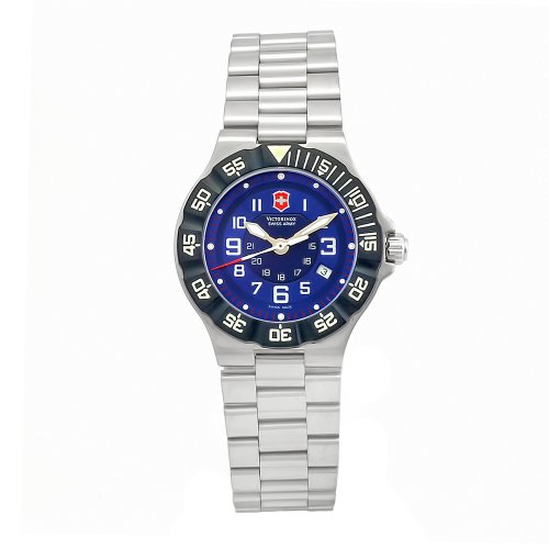 Swiss Watches:Victorinox Swiss Army Women's 241415 Summit Blue Dial Watch Images