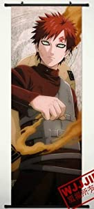 Home Decor Naruto Sabaku no Gaara Cosplay Wall Scroll Poster 49.2 X 17.7 Inches-449