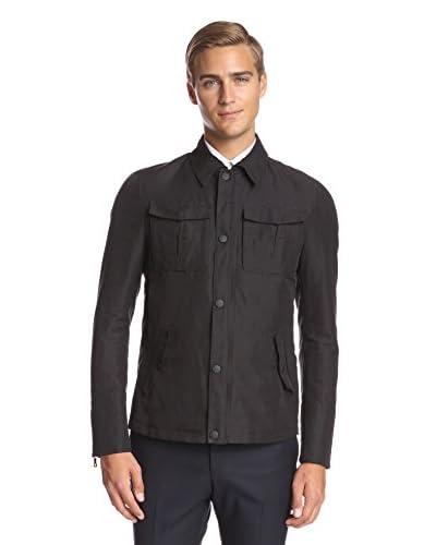 Valentino Men's Stand Collar Zip Jacket