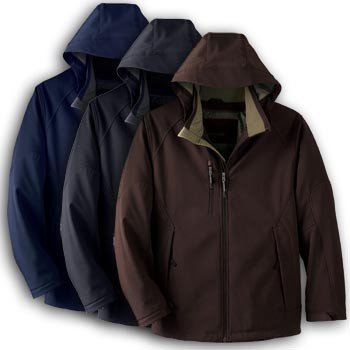 Picture of North End Mens Insulated Soft Shell Waterproof Coat with Detachable Hood, a Mens Coat at Affordable Price