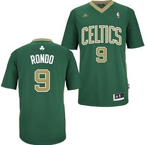 Boston Celtics Adidas NBA Rajon Rondo #9 Swingman Jersey M by adidas
