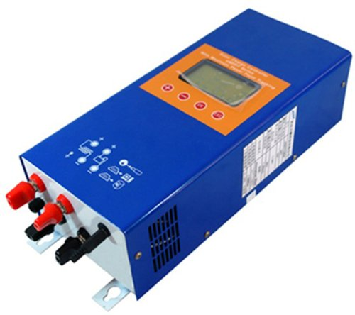 Ten-High 30A 48V Mppt Solar Charge Controller Regulator,With Lcd Display